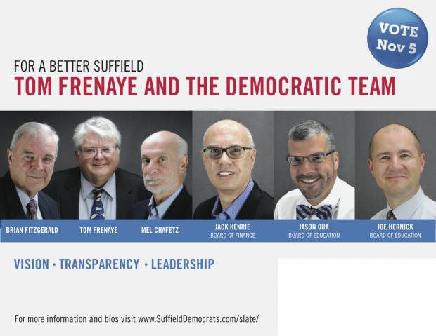 Suffield Democratic Candidates