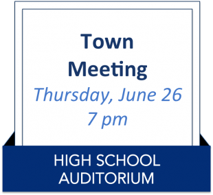 Suffield Town Meeting