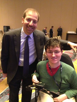 Will Hermann and Chuck Todd
